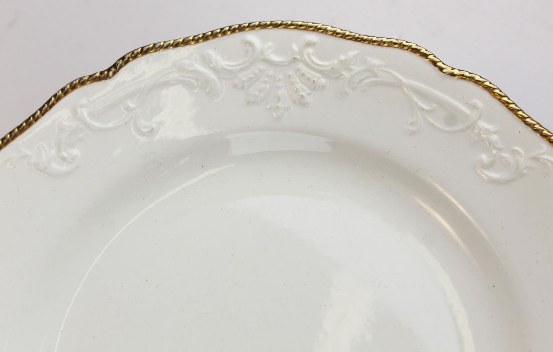 16 Copeland Spode creamware style dinner plates - 3