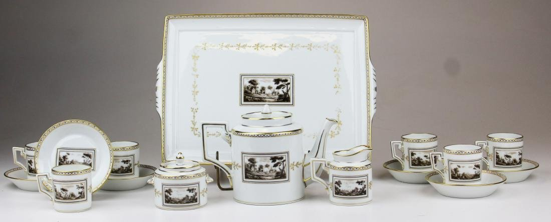 Richard Ginori Pittoria porcelain coffee service - 10