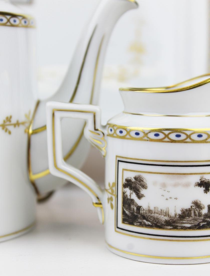Richard Ginori Pittoria porcelain coffee service - 3