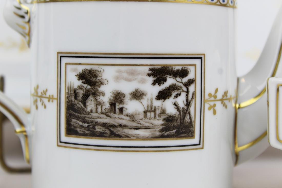 Richard Ginori Pittoria porcelain coffee service - 4