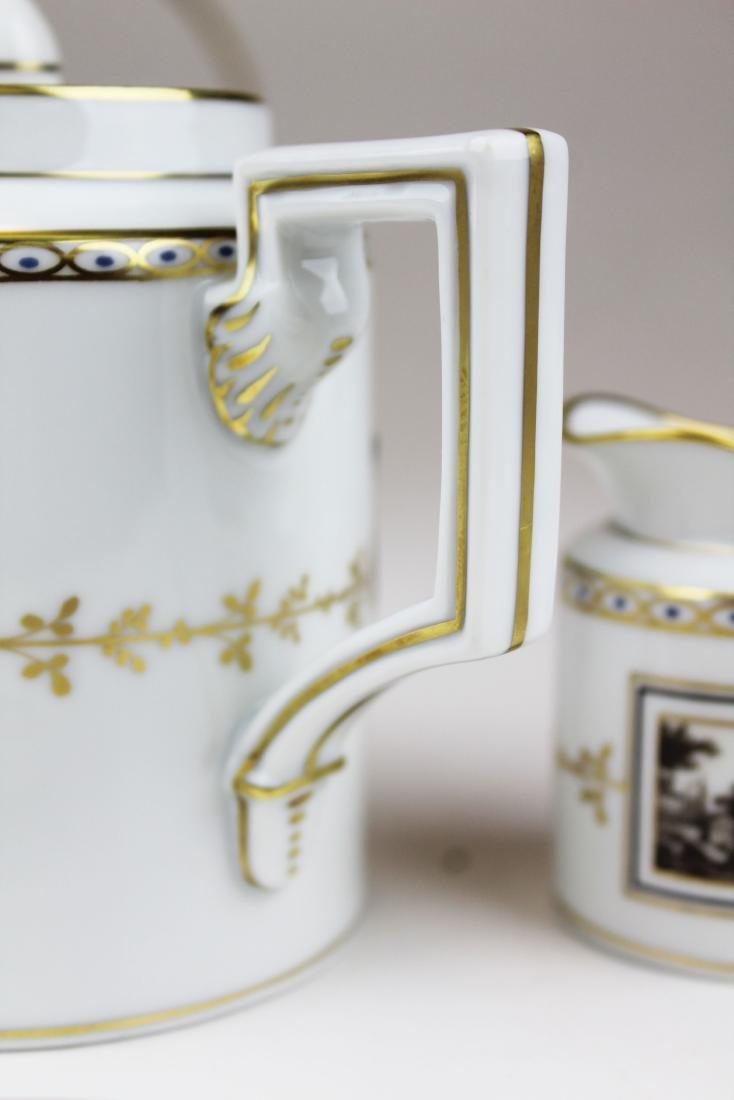 Richard Ginori Pittoria porcelain coffee service - 6