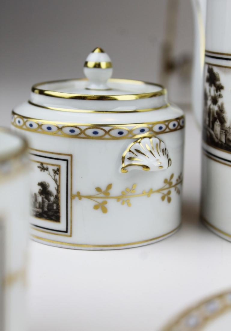 Richard Ginori Pittoria porcelain coffee service - 7