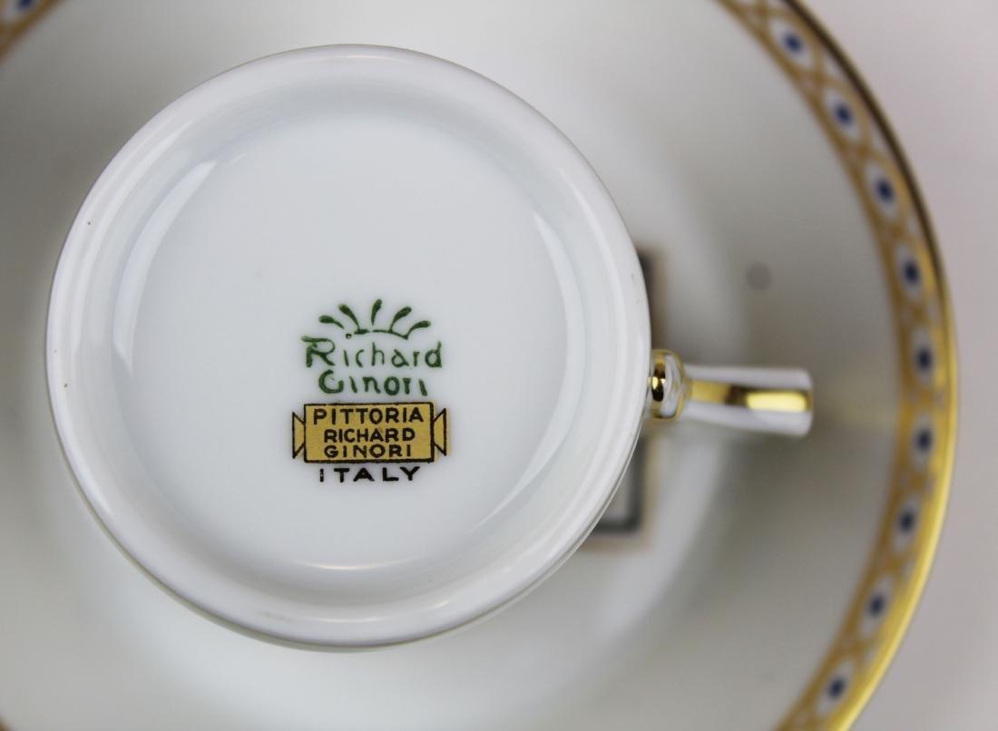 Richard Ginori Pittoria porcelain coffee service - 9