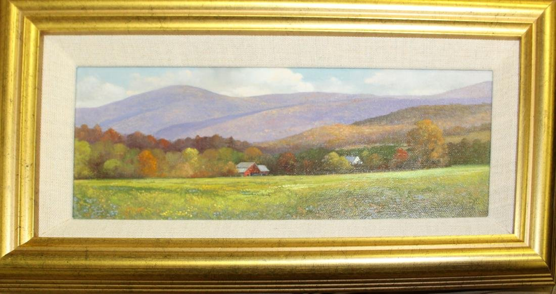 Gerald L Lubeck (VT 1942-) Landscape