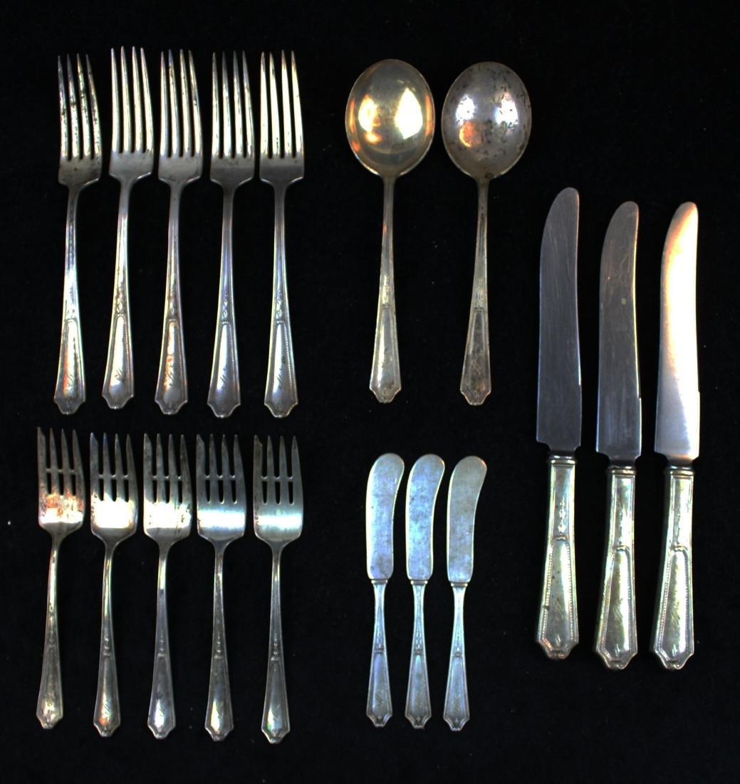 Jennings Silver Co. Georgian sterling flatware