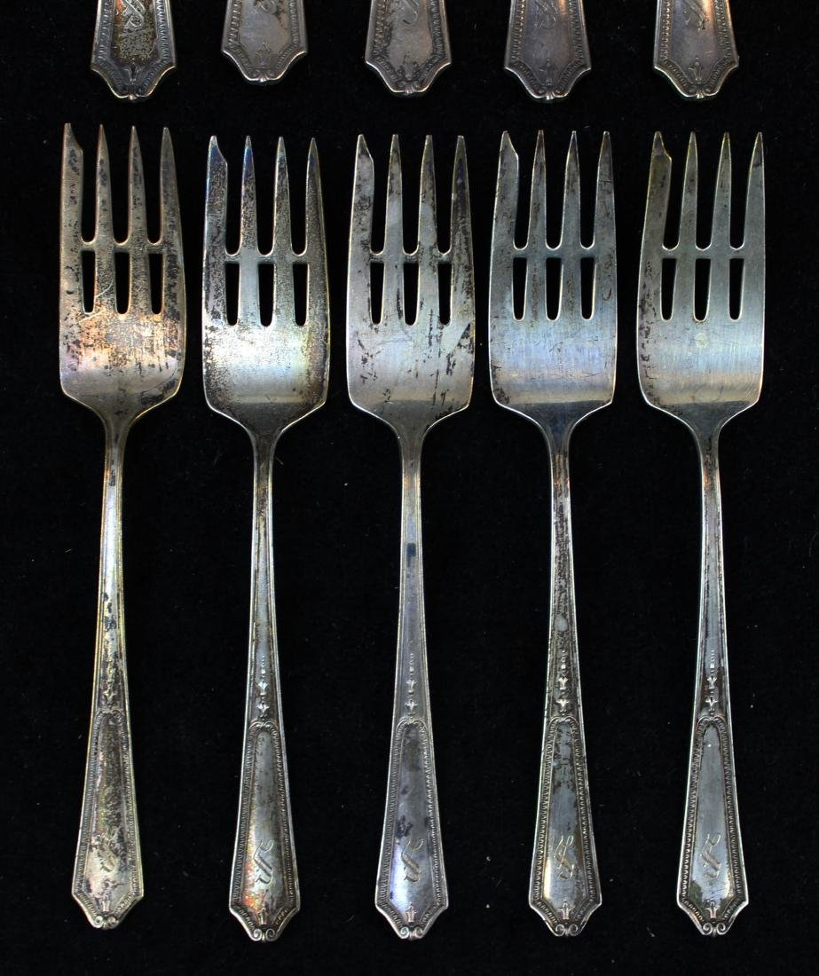 Jennings Silver Co. Georgian sterling flatware - 2