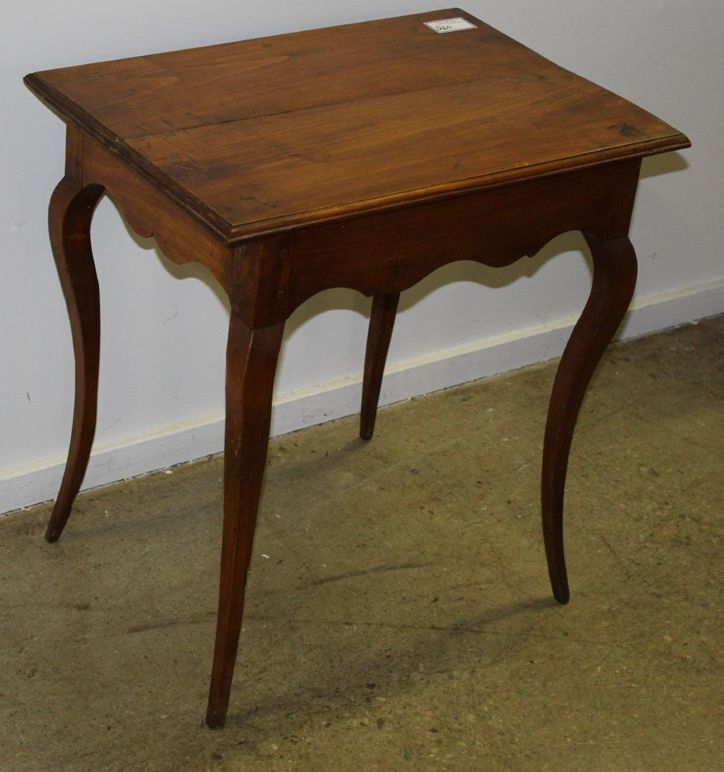 19th c French one drawer table
