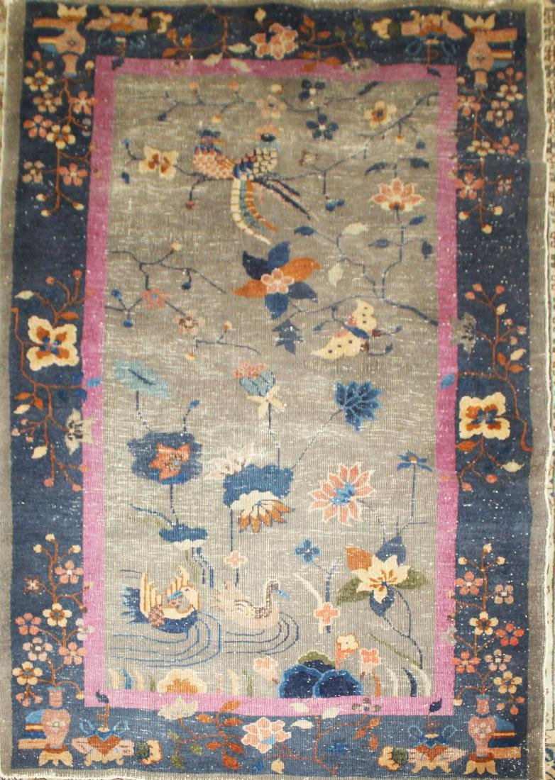 early 20th c Chinese area rug
