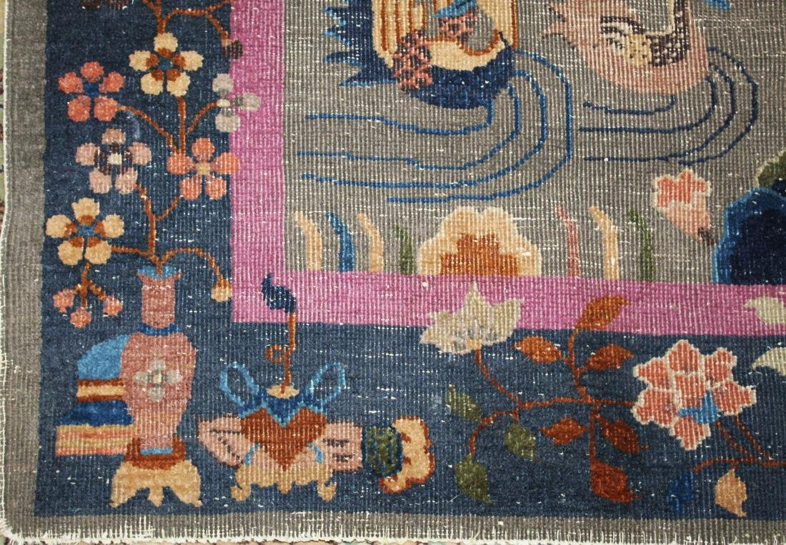 early 20th c Chinese area rug - 2
