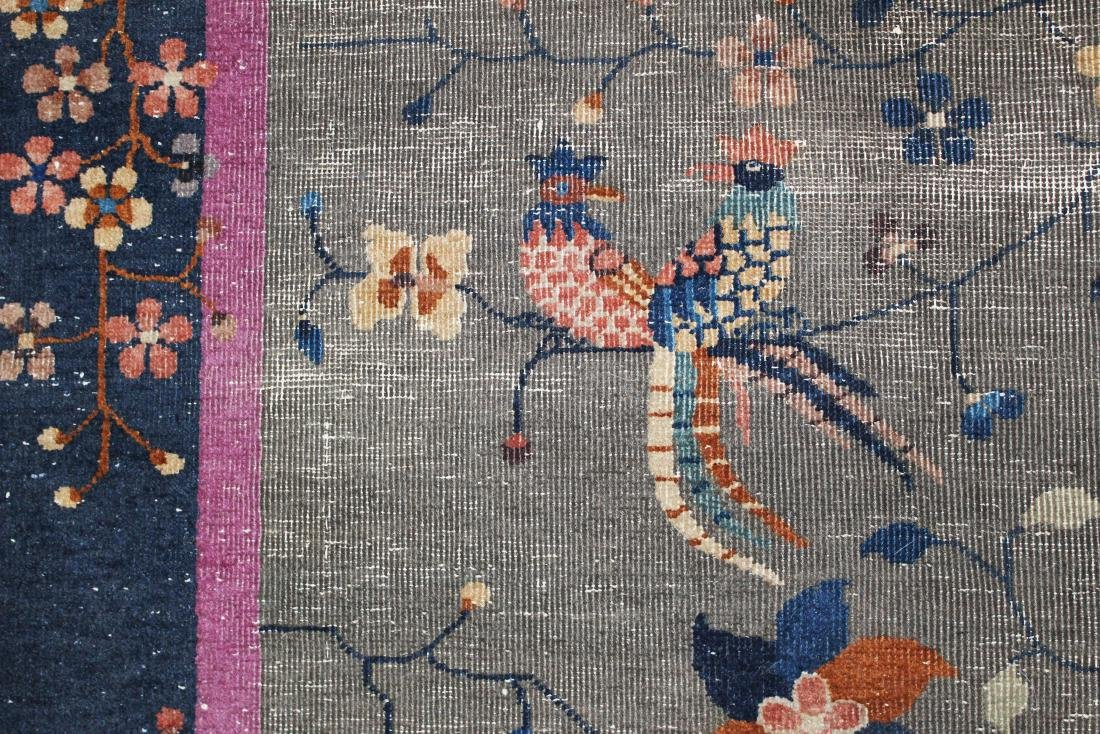 early 20th c Chinese area rug - 4