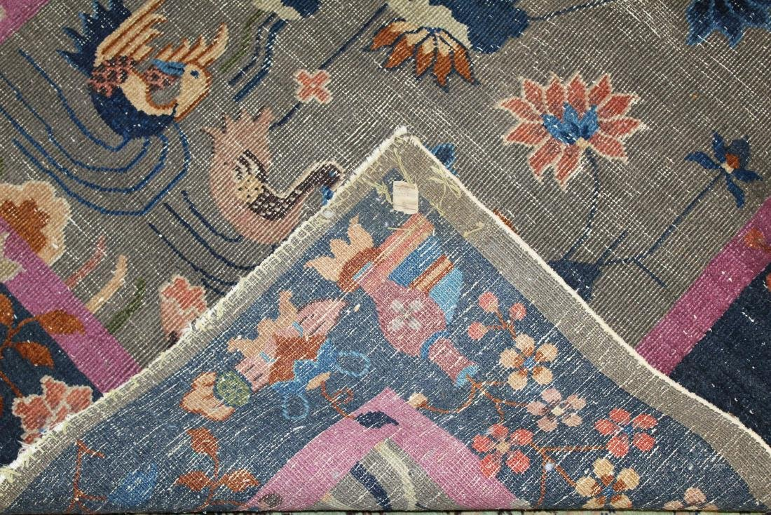 early 20th c Chinese area rug - 5