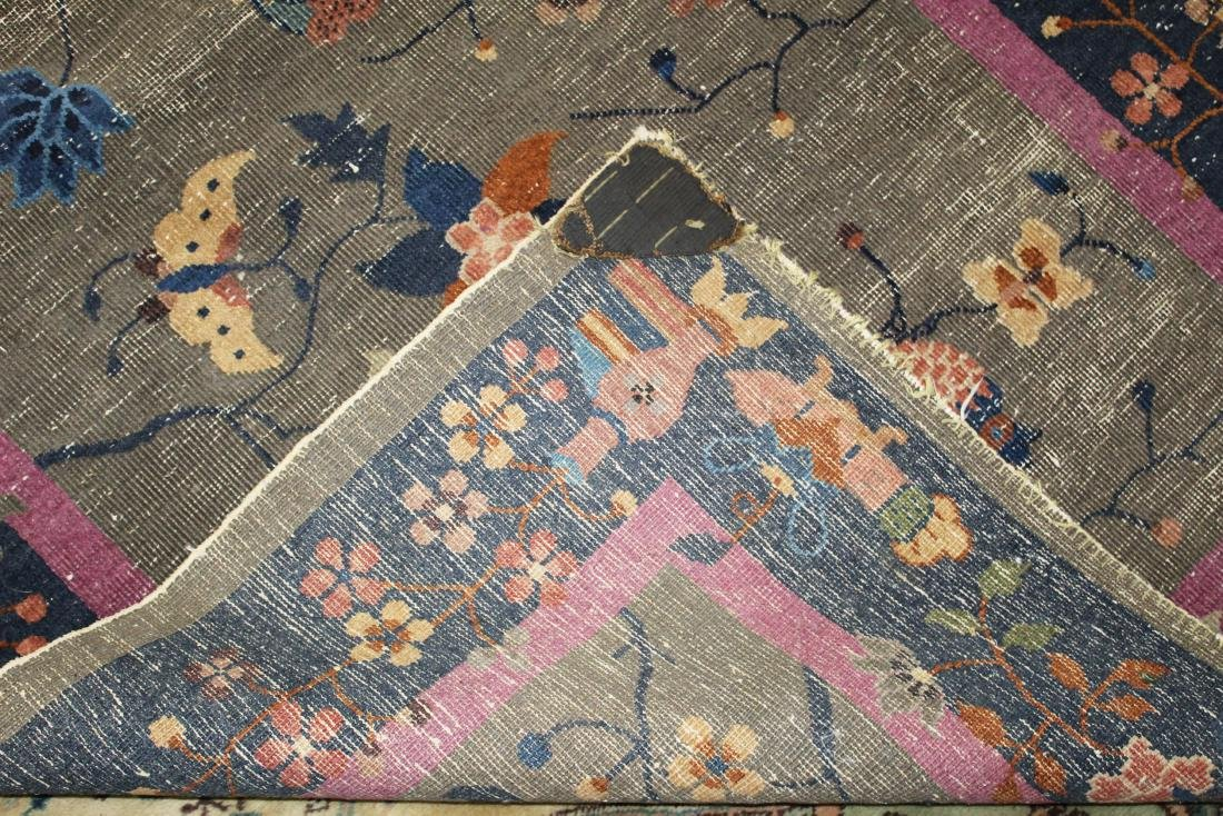 early 20th c Chinese area rug - 6