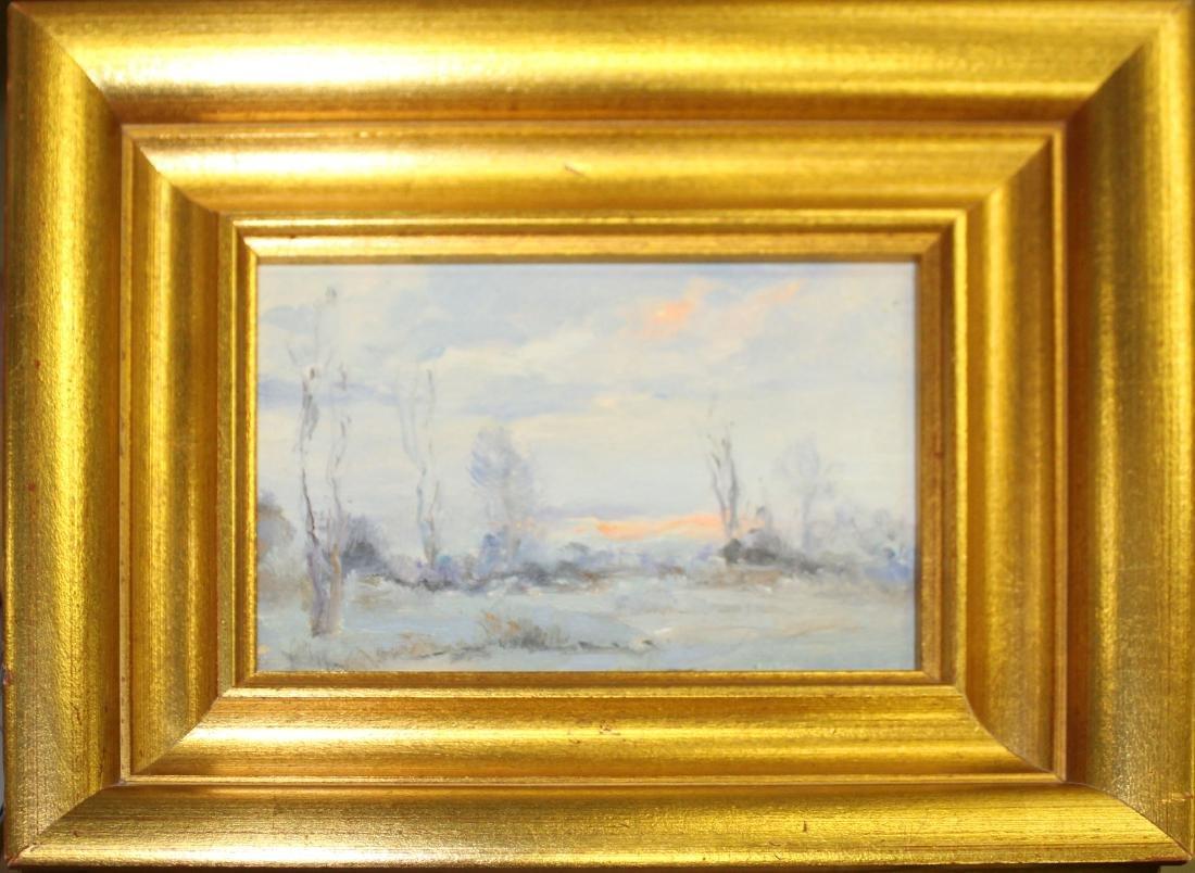 Paul Fr. Weindorf (DE 1887-) Winter Landscape