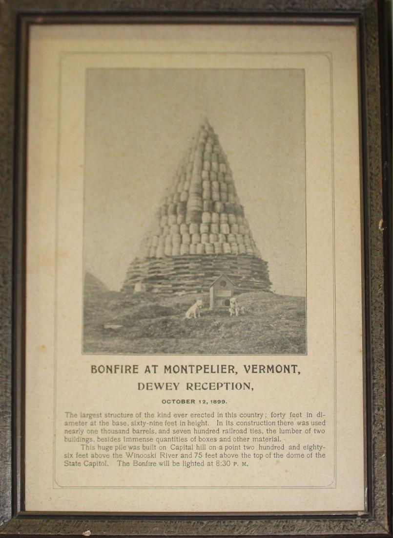 Bonfire at Montpelier VT