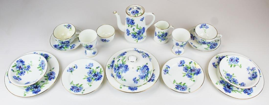 Hammersley bone china 16 pc. Breakfast set - 4