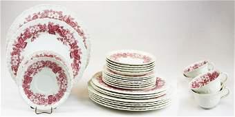 28 pcs Wedgwood Bramble porcelain