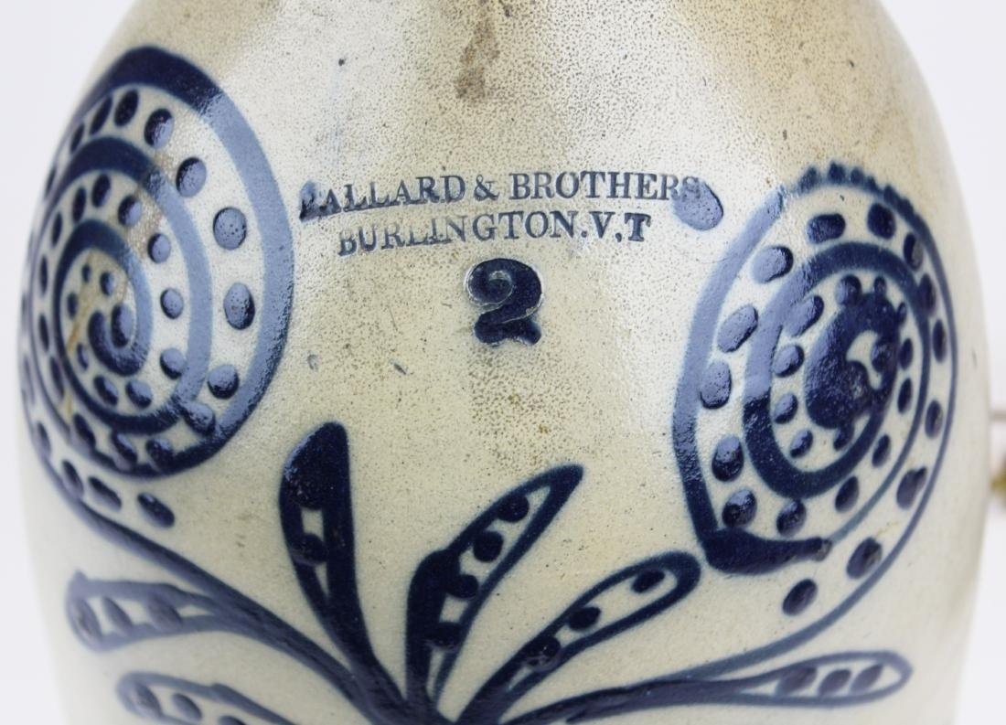 Ballard & Brothers blue  stoneware jug - 2