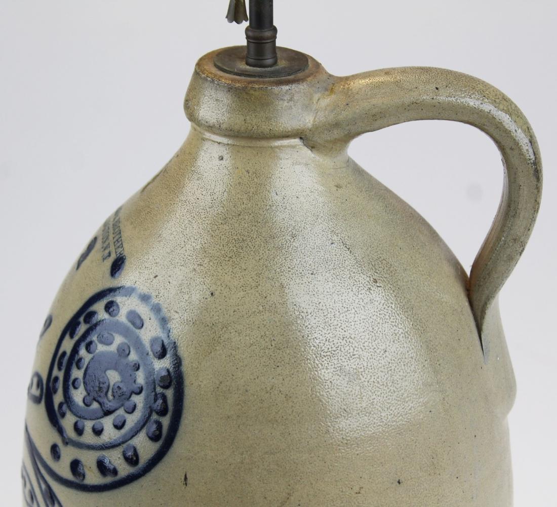 Ballard & Brothers blue  stoneware jug - 3