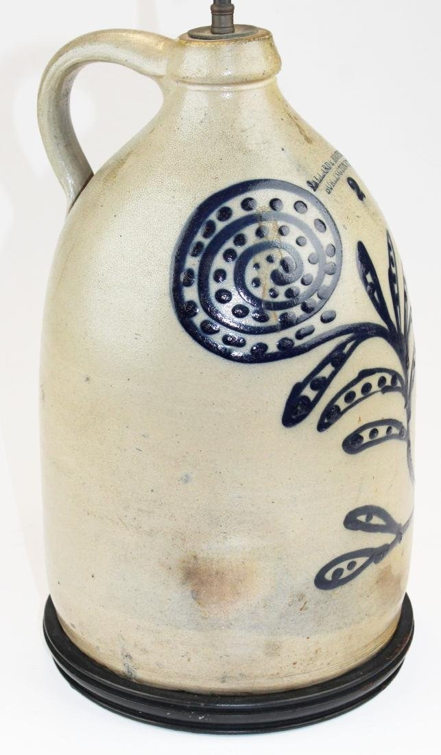Ballard & Brothers blue  stoneware jug - 5