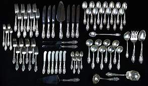68 pcs. Towle King Richard sterling flatware
