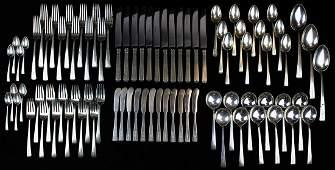 83 pcs. Towle Craftsman sterling flatware