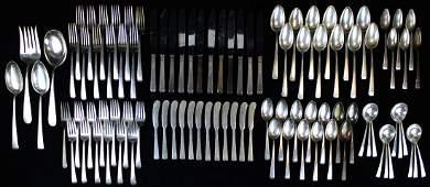 96 pcs Towle Craftsman sterling flatware