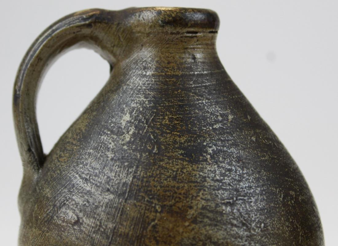 two small salt glazed stoneware jugs - 4