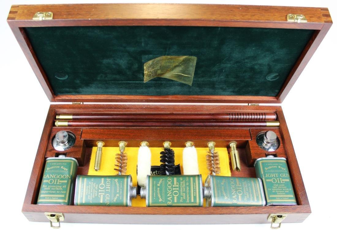 Pendleton Royal cased shotgun cleaning kit
