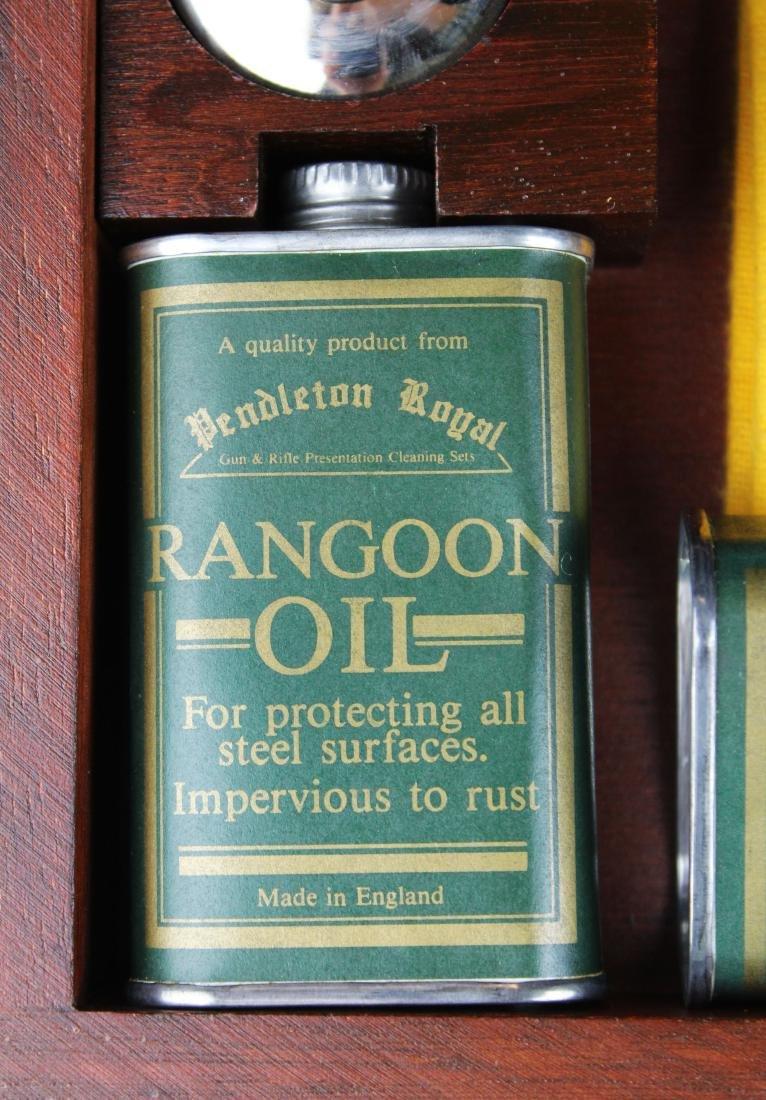 Pendleton Royal cased shotgun cleaning kit - 2
