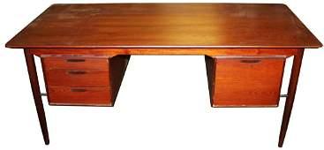 Arne Vodder style Danish Modern desk