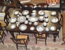 Pottery Barn Montego table and Napoleon chairs