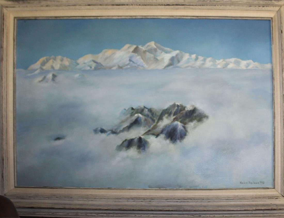 Helen Nelson (AM 20th c) Above the Clouds