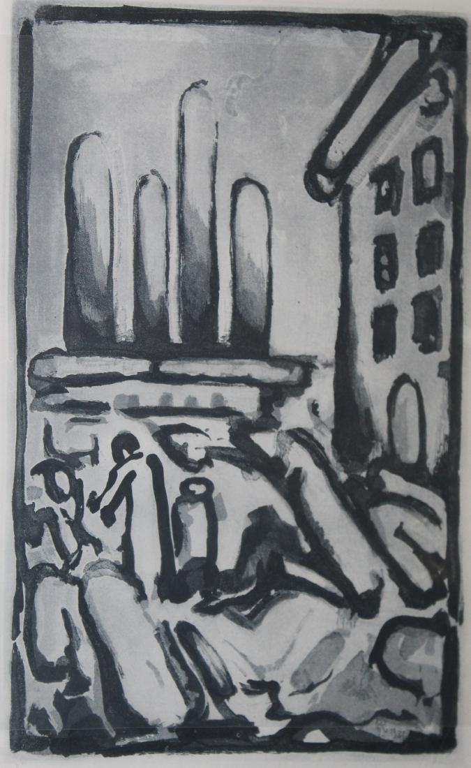 Georges Rouault (Fr 1871-1958) Aquatint