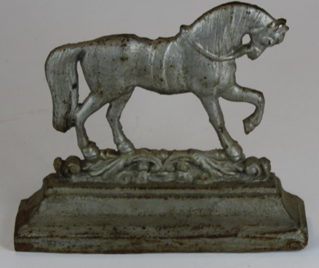 vintage cast iron horse doorstop