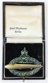 rare German Army Airships Zeppelin badge