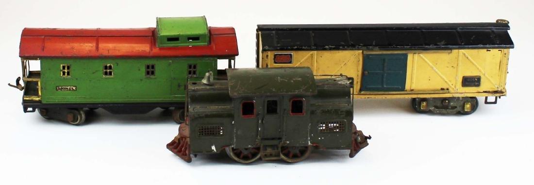 Lionel Standard Gauge 33 engine, 4018, 517 - 2