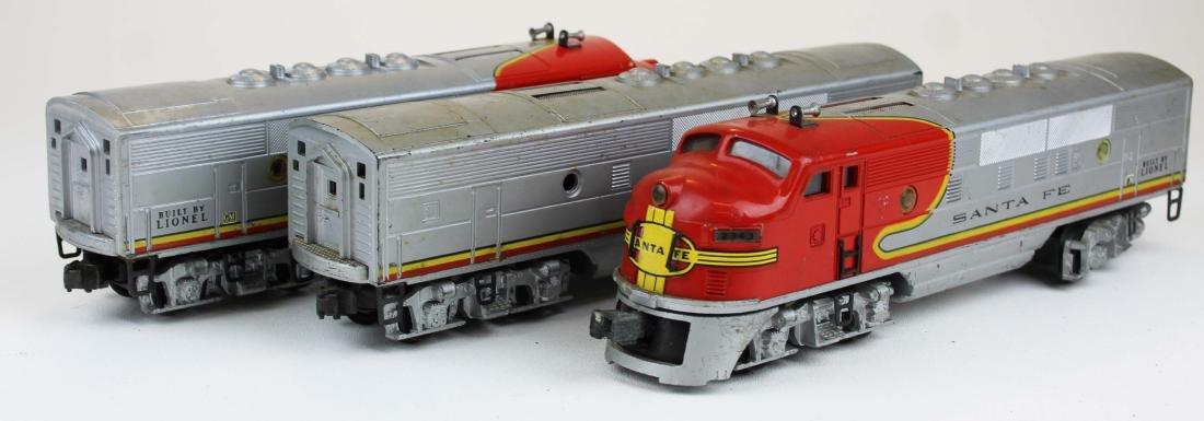 Lionel O gauge Santa Fe 2343, 2343C
