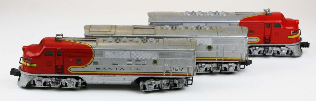 Lionel O gauge Santa Fe 2343, 2343C - 2