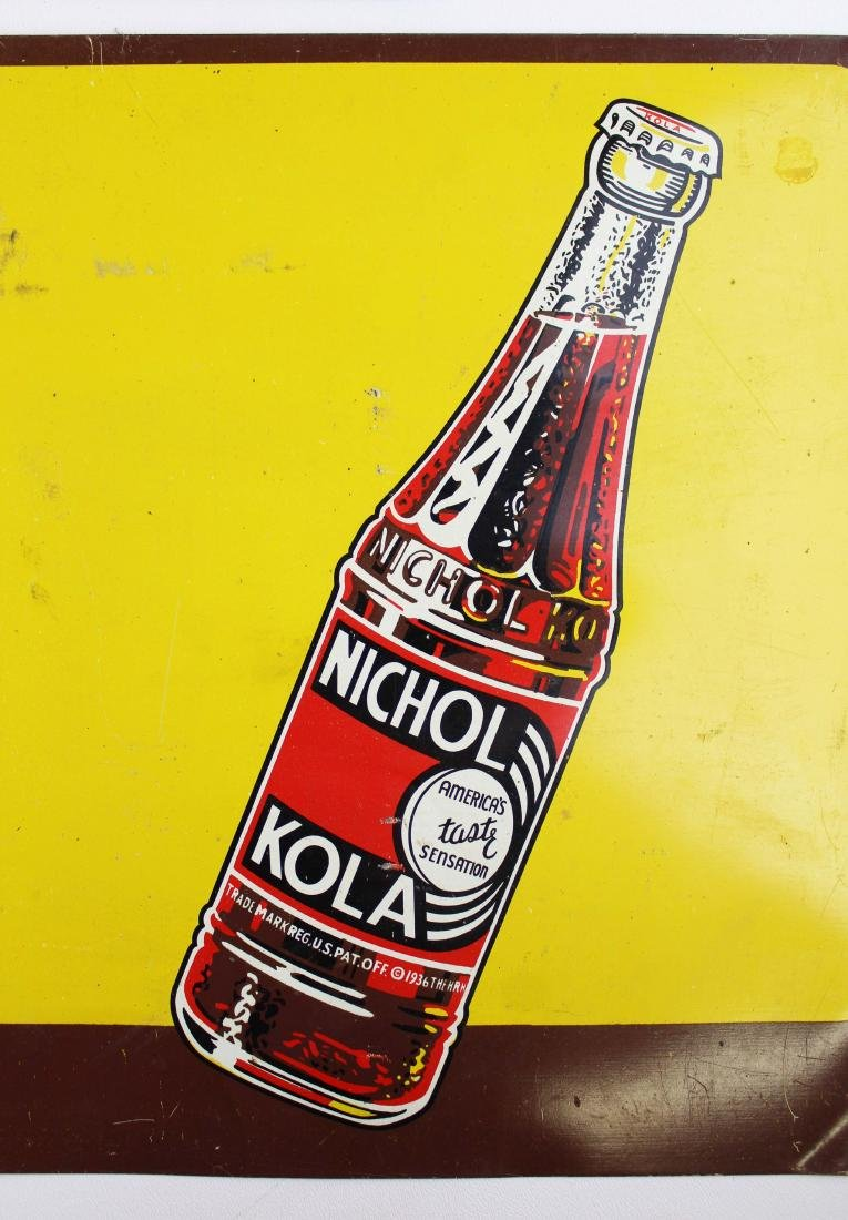 two Nichol Cola advertising signs - 7
