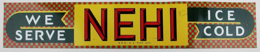 Sun Crest, Nehi advertising signs - 2