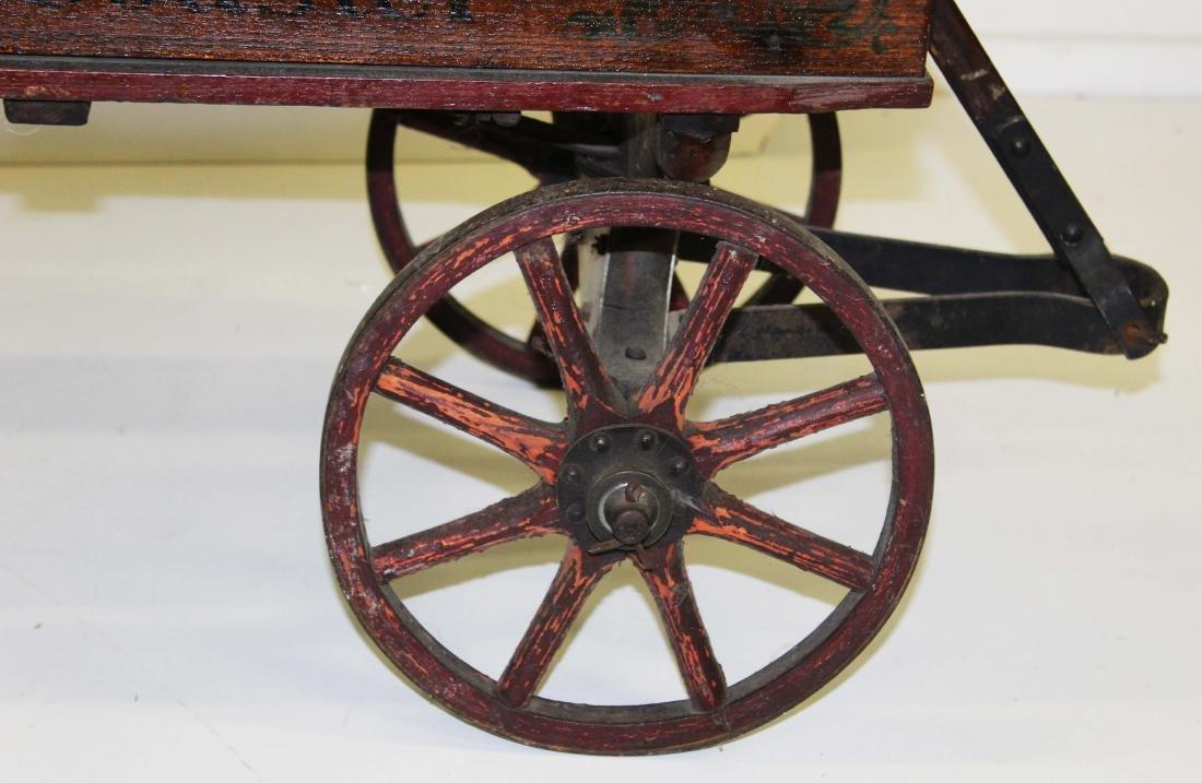 early 20th c Auto Wheel Coaster wagon - 4