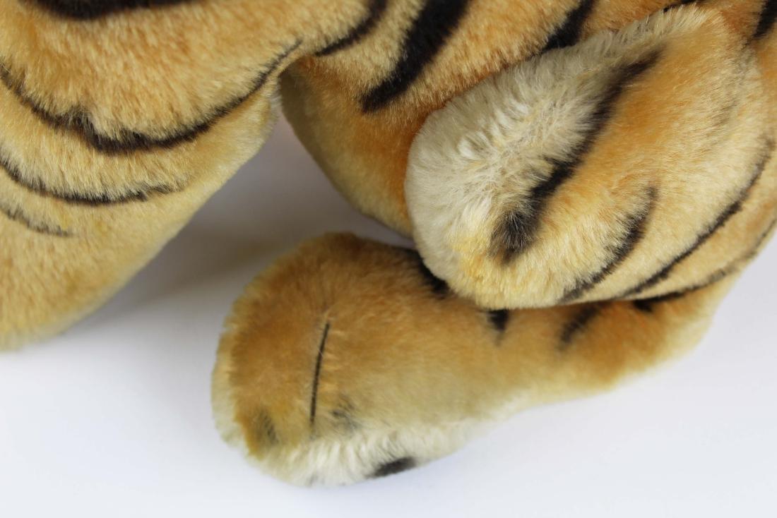 mid 20th c Steiff Bengal tiger cub - 7