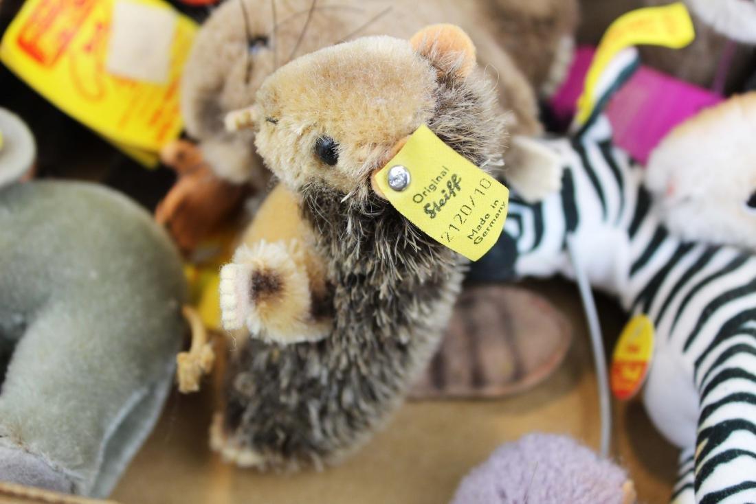 fifteen Steiff plush toys with original tags - 10