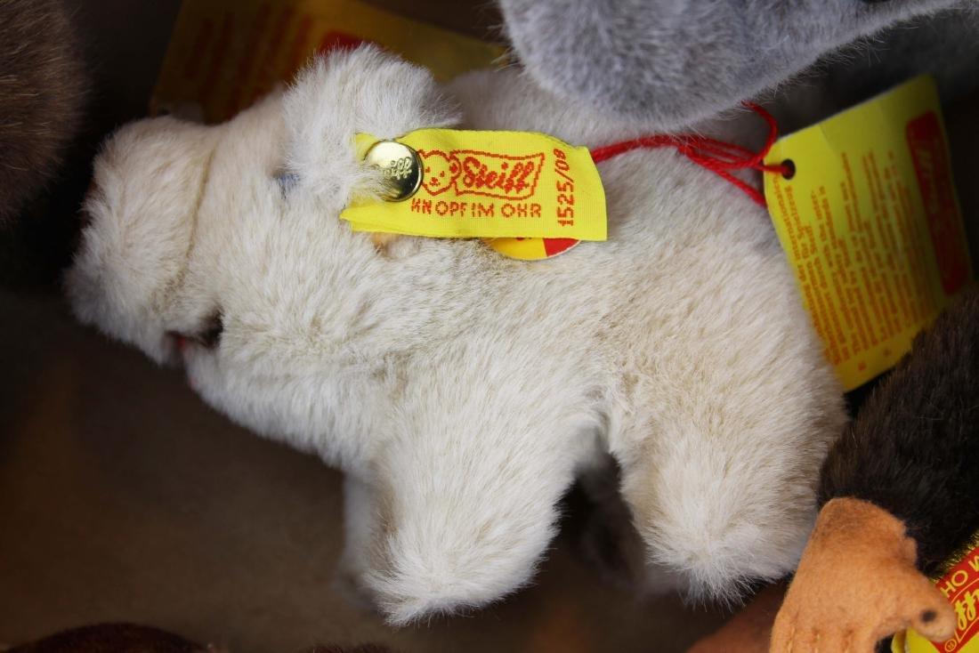 fifteen Steiff plush toys with original tags - 9