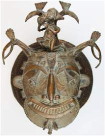 Tikar Bronze Mask
