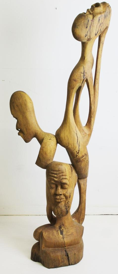 West African Modern carved sculpture