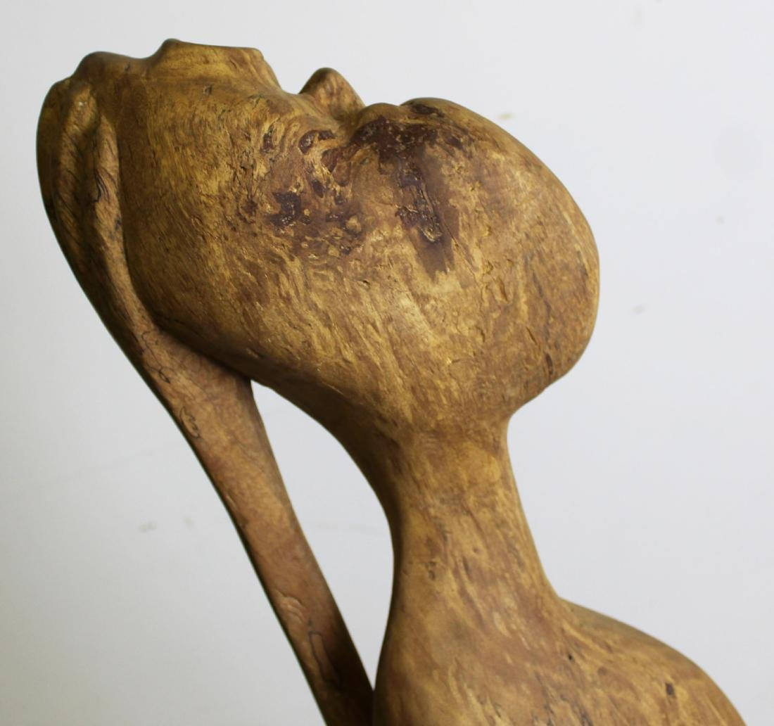 West African Modern carved sculpture - 5