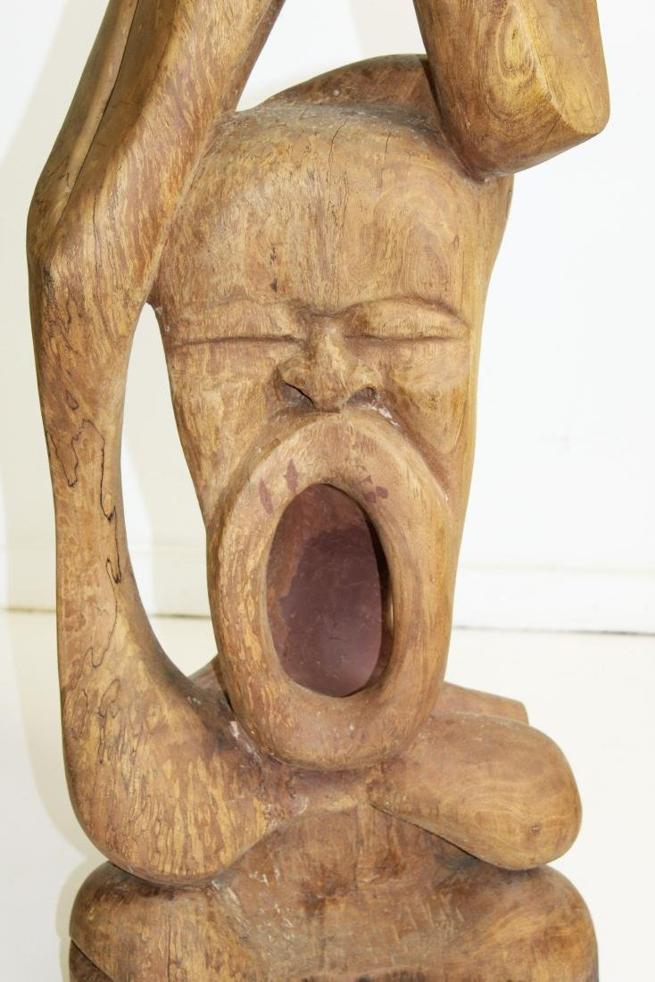 West African Modern carved sculpture - 6