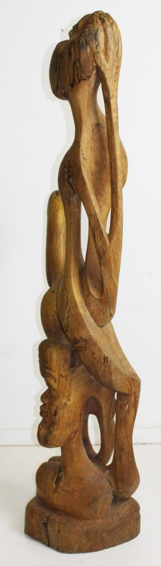 West African Modern carved sculpture - 8