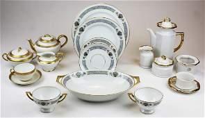 3 Limoges and Bavarian china sets